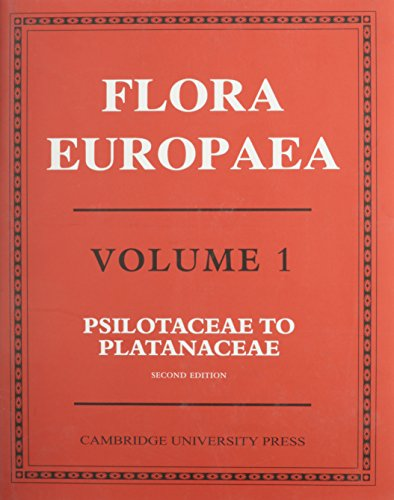 Flora Europaea By Edited by T. G. Tutin
