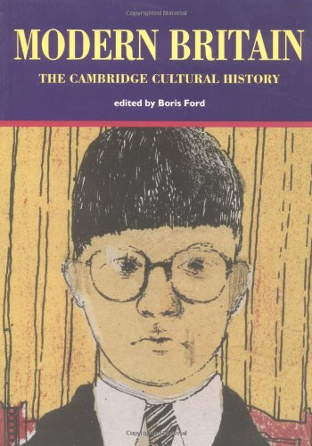 Cambridge Cultural History of Britain By Boris Ford