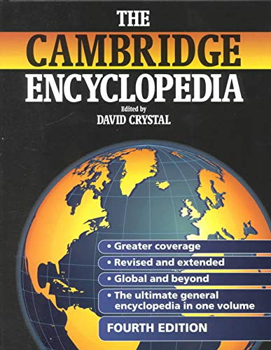 The Cambridge Encyclopedia Updated By Edited by David Crystal