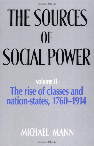 The Sources of Social Power By Michael Mann