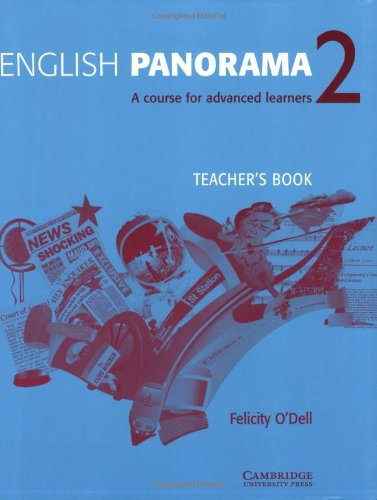 English Panorama 2 Teacher's book By Felicity O'Dell