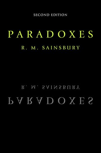 Paradoxes By R. M. Sainsbury (King's College London)