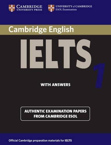 Cambridge Practice Tests for IELTS 1 Self-study Student's Book (IELTS Practice Tests) By Vanessa Jakeman