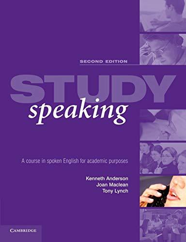 Study Speaking By Kenneth Anderson (University of Edinburgh)