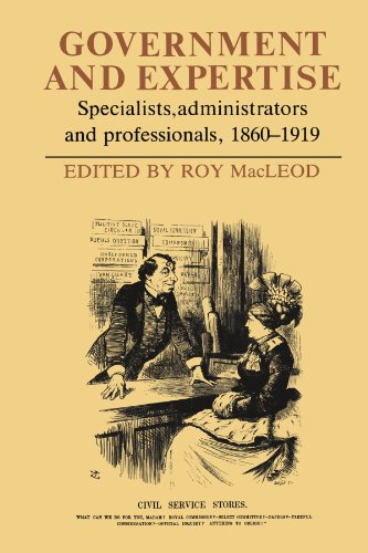 Government and Expertise By Roy MacLeod