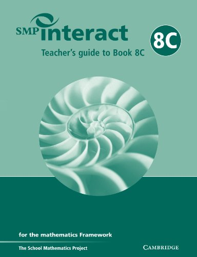SMP Interact Teacher's Guide to Book 8C By School Mathematics Project