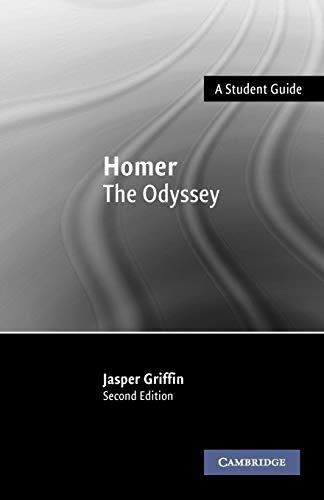 Homer: The Odyssey (Landmarks of World Literature (New)) By Jasper Griffin (Balliol College, Oxford)