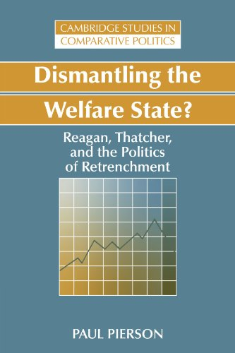 Dismantling the Welfare State? By Paul Pierson (Harvard University, Massachusetts)