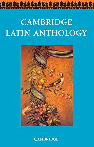 Cambridge Latin Anthology By Cambridge School Classics Project