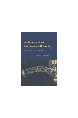 An Introduction to Mathematical Reasoning By Peter J. Eccles (University of Manchester)