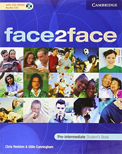 face2face Pre-intermediate Student's Book with CD-ROM/Audio CD By Chris Redston