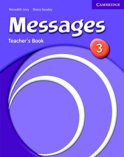Messages 3 Teacher's Book By Meredith Levy