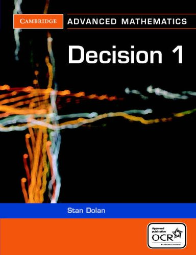 Decision 1 for OCR By Stan Dolan