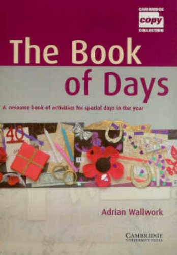 The Book of Days Teacher's Book By Adrian Wallwork