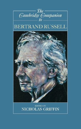 The Cambridge Companion to Bertrand Russell By Edited by Nicholas Griffin (McMaster University, Ontario)