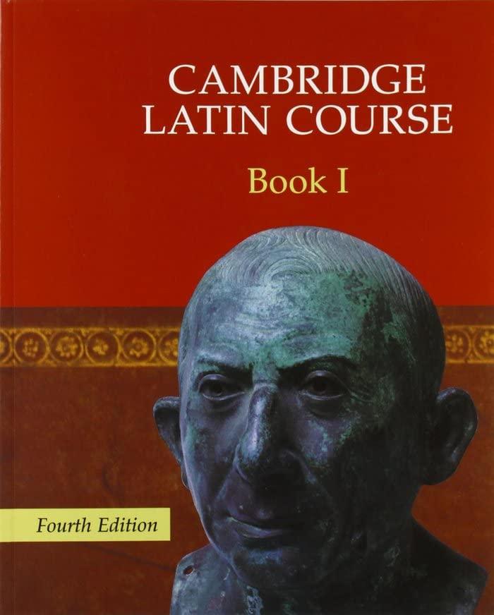 Cambridge Latin Course Book 1 By Cambridge School Classics Project