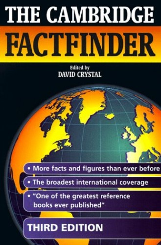 The Cambridge Factfinder By Edited by David Crystal