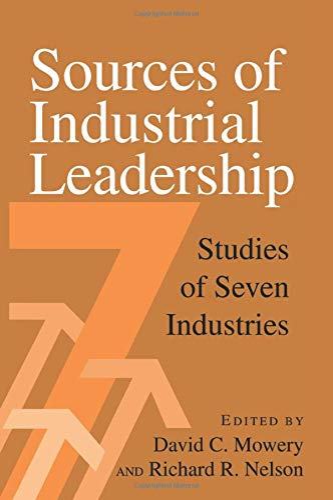 Sources of Industrial Leadership By Edited by David C. Mowery
