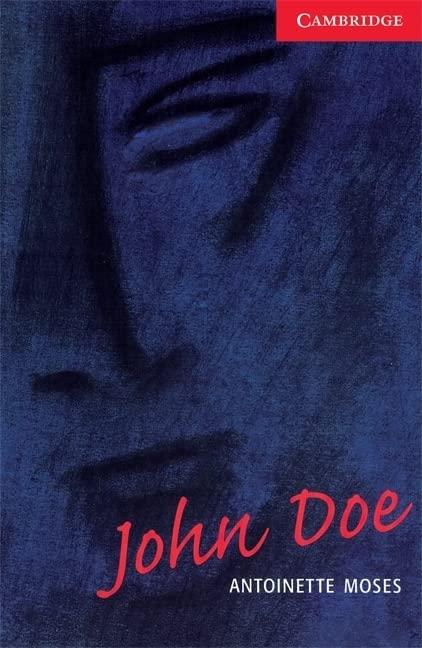 John Doe Level 1 By Antoinette Moses