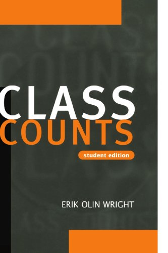 Class Counts Student Edition By Erik Olin Wright