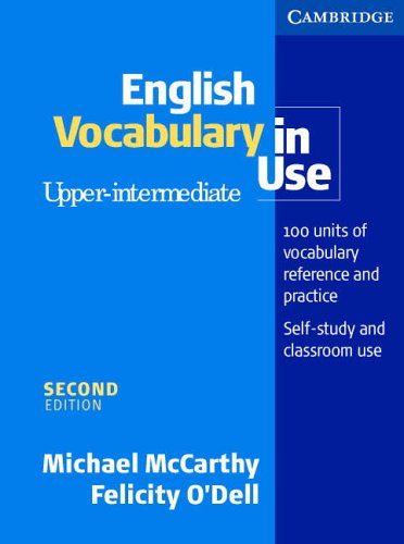 English Vocabulary in Use Upper-Intermediate with answers By Michael McCarthy