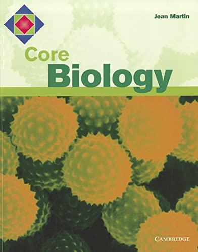 Core Biology By Jean Martin
