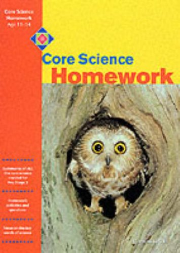 Core Science Homework By Jean Martin