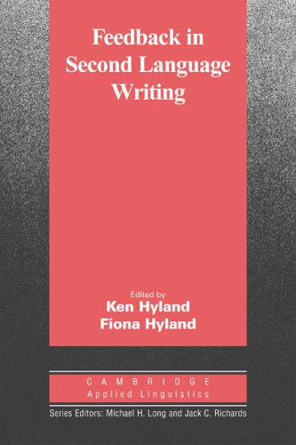 Feedback in Second Language Writing By Ken Hyland (University of London)