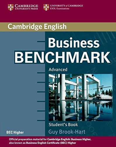 Business Benchmark Advanced Student's Book BEC Edition By Guy Brook-Hart