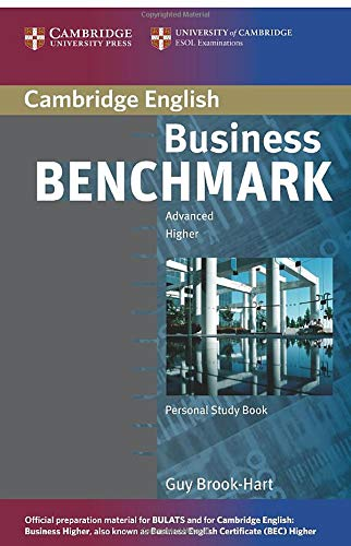 Business Benchmark Advanced Personal Study Book for Bec and Bulats By Guy Brook-Hart