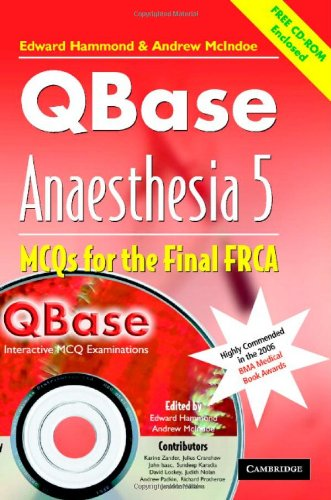 QBase Anaesthesia with CD-ROM By Edited by Edward Hammond (Royal Devon and Exeter Hospital)