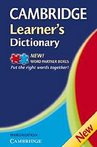 Cambridge Learner's Dictionary By Kate Woodford
