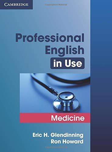 Professional English in Use Medicine By Eric Glendinning