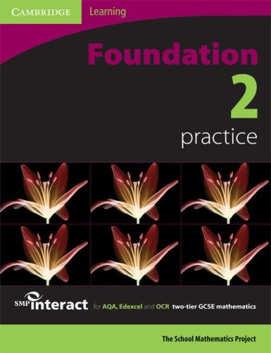 SMP GCSE Interact 2-tier Foundation 2 Practice book By School Mathematics Project
