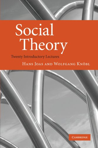 Social Theory: Twenty Introductory Lectures By Hans Joas