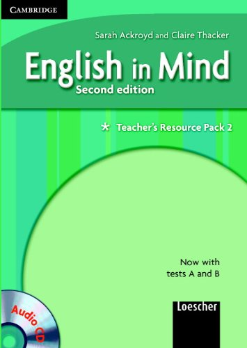 English in Mind 2 Teacher's Resource Pack with Audio CD Italian Edition by Herbert Puchta