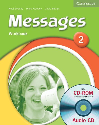 Messages 2 Workbook with Audio CD/CD-ROM By Diana Goodey