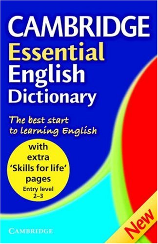Cambridge Essential English Dictionary, Skills for Life By Cambridge University Press