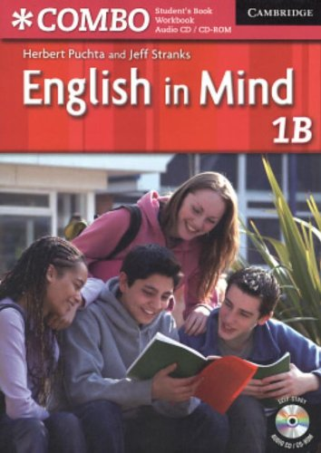 English in Mind Level 1B Combo with Audio CD/CD-ROM By Herbert Puchta