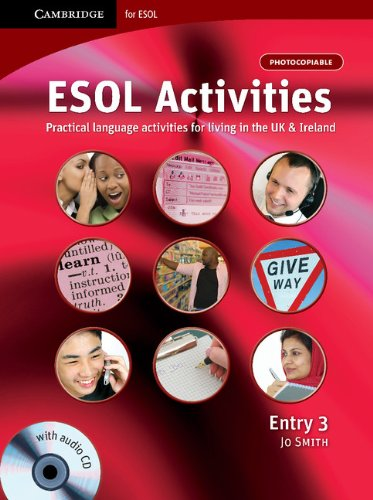ESOL Activities Entry 3 By Jo Smith