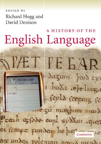 A History of the English Language by Richard M. Hogg