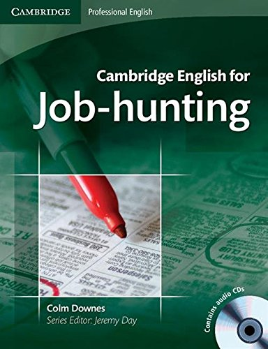 Cambridge English for Job-hunting Student's Book with Audio CDs (2) By Colm Downes