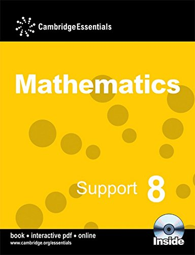 Cambridge Essentials Mathematics Support 8 Pupil's Book By Ricardo Pimentel