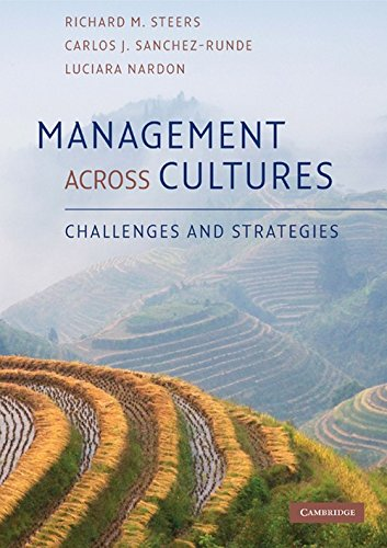 Management across Cultures By Richard M. Steers (University of Oregon)