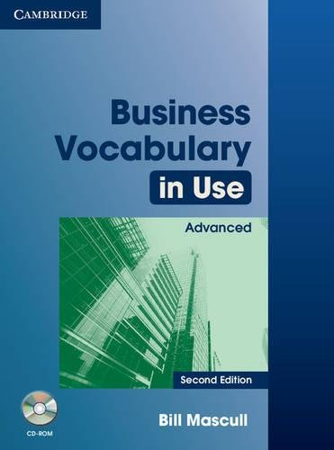 Business Vocabulary in Use Advanced with Answers and CD-ROM By Bill Mascull