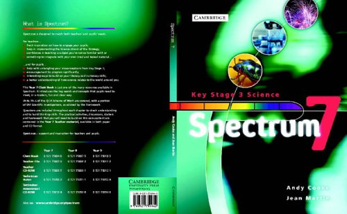 Spectrum Year 7 Class Book By Andy Cooke