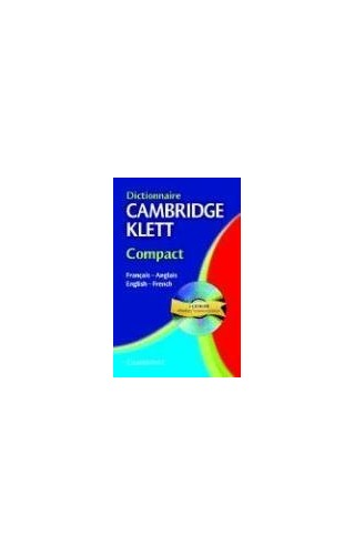 Dictionnaire Cambridge Klett Compact Francais-Anglais/English-French with CD-ROM By Patrick Gillard
