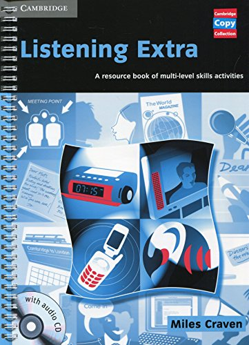 Listening Extra Book and Audio CD Pack By Miles Craven (Churchill College, Cambridge)