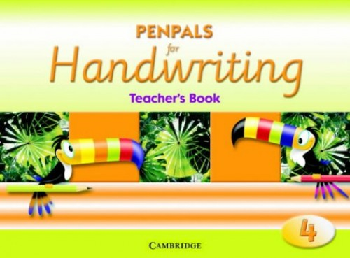 Penpals for Handwriting Year 4 Teacher's Book By Gill Budgell