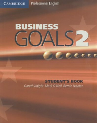 Business Goals 2 Student's Book By Gareth Knight